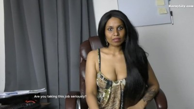 X hq porner - Indian Boss Tricks role play in Hindi English
