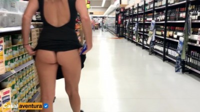 Public Anal Sex Risky on Super market! - Beeg fitness
