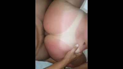 Tanned Girl with her Ass Fuck - Youporn 4k