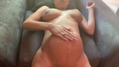 Korean mum and son sex video - Pregnant humiliation from ass to belly cum shot