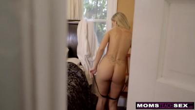 Cumming On My Hot Step Moms Big Tits !