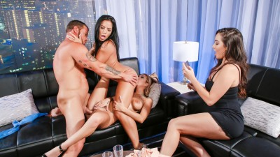 Wild Ffm Threeway Fuck Fest With Hot American Chicks Kat Dior & Morgan Lee - Scam Angels