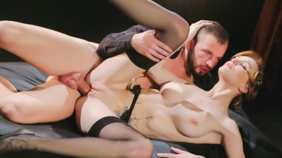 Hot Czech babe Belle Claire enjoys smoking and deep anal in fantasy fuck - X Chimera