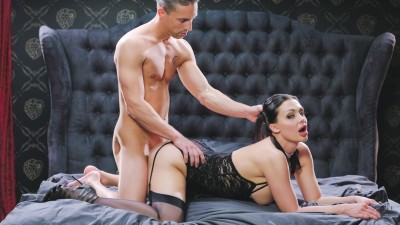 Busty Hungarian babe Aletta Ocean eats jizz in glamcore fuck with Lutro - X Chimera