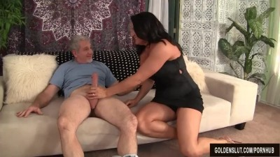 His does everything for her sexy neighbor.