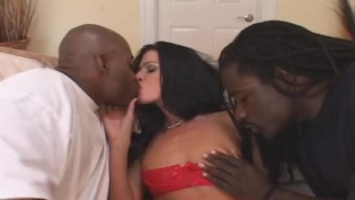 Dirty Milf Loves Interracial Threesome