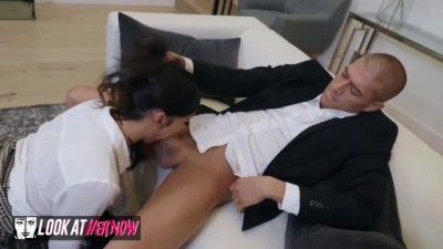 Emily Willis likes to be spanked and fucked hard.