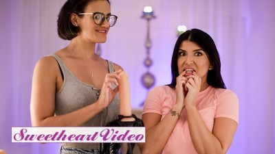 Sweet Heart Video - two Horny Women Penny Barber and Romi Rain Play with there Toy