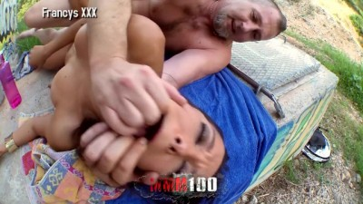 Francys Belle Wild and Crazy Outdoor Anal Fucking and Squirting