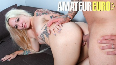 Casting Francais - French Babe at her first Porn Audition - AmateurEuro