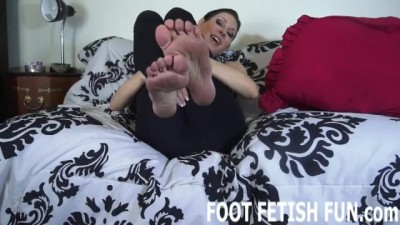 Foot Fetish Domination and POV Footjob Porn