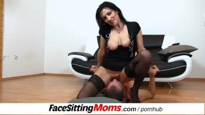 Old-young Cunt Licking Feat. Horny Stockings MILF Marta