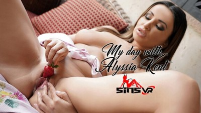 SinsVR - 180 VR Porn - my Day With... Alyssia Kent