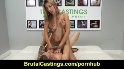 Brutal Castings - Sophia Grace - Jizz Kisser