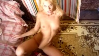 Blondie Dancing and Masturbates