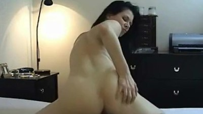 Brunette Slut Riding Cock while Smoking