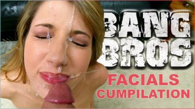 BANGBROS - Epic Facial Fest Cum Shot Compilation Featuring Preston Parker