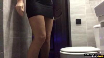 Sex in the toilet night club - Bihari xvideo